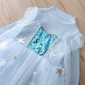 Elsa frozen costume sweater dress